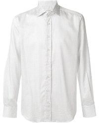Etro - Fine Print Shirt - Lyst