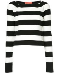 Manning Cartell - Striped Knitted Top - Lyst