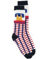 Henrik Vibskov | Embroidered Socks | Lyst