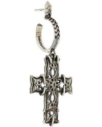 Emanuele Bicocchi - Cross Drop Earring - Lyst