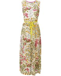 RED Valentino - Floral Maxi Dress - Lyst