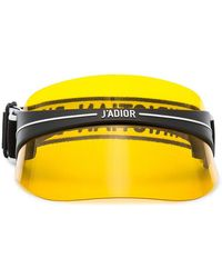 Dior - Yellow Club 1 Perspex Visor - Lyst