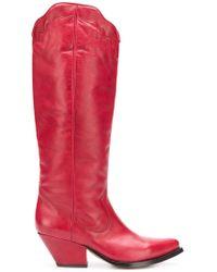 Buttero - Elise Western Boots - Lyst