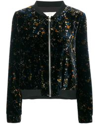 Vanessa Bruno Athé - Embroidered Bomber Jacket - Lyst