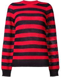 Sonia Rykiel - Striped Knit Jumper - Lyst