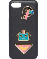 Prada - Iphone 7/8 Logo Plaque Cover - Lyst