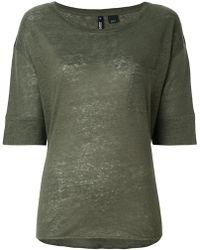 Woolrich - Threadbare T-shirt - Lyst