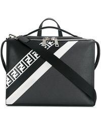 6760ed81422b Lyst - Fendi  selleria  Messenger Bag in Black for Men