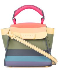 Zac Zac Posen - Striped Design Mini Bag - Lyst