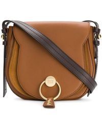 See By Chloé - Logo Front Saddle Bag - Lyst