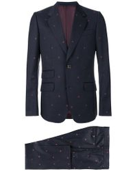 Gucci - Heritage Bees Two Piece Suit - Lyst
