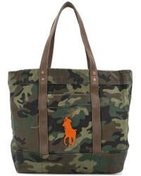 Polo Ralph Lauren - Camouflage Tote Bag - Lyst