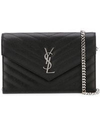 3fa2336708 Saint Laurent -  monogram  Crossbody Bag - Lyst