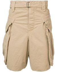 Sacai - Panama Shorts - Lyst