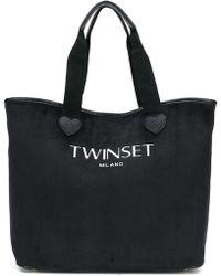 Twin Set - Logo Tote Bag - Lyst