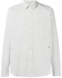 Givenchy - Diagonally Striped Shirt - Lyst