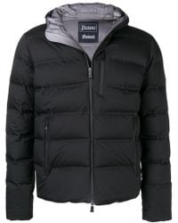 Herno - Cropped Padded Coat - Lyst
