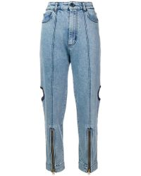 House of Holland - Jeans con dettaglio cut-out - Lyst