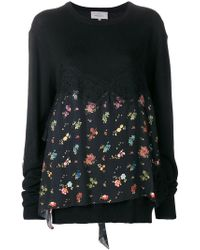 Preen By Thornton Bregazzi - June Floral Printed Sweater - Lyst