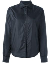 Aspesi - Padded Shirt Jacket - Lyst