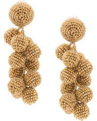 Sachin & Babi - Embellished Drop Earrings - Lyst