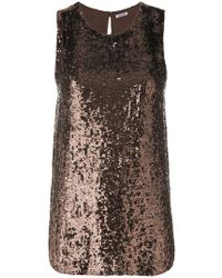 P.A.R.O.S.H. - Sequinned Top - Lyst
