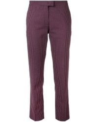 PS by Paul Smith - Vichy Checked Trousers - Lyst