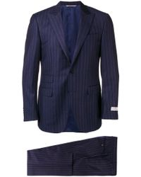 Canali - Striped Two-piece Suit - Lyst