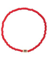 Luis Morais - Small Cross Of Loraine Barrel Bracelet - Lyst