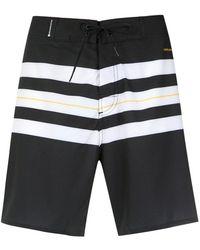 Osklen - Striped Swim Trunks - Lyst