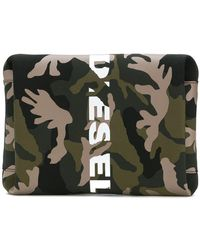 DIESEL - Camouflage Clutch - Lyst