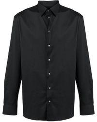 Emporio Armani - Button-down-Hemd - Lyst