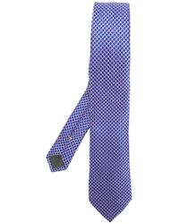 Canali - Patterned Tie - Lyst