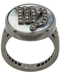 Carolina Bucci - Diamond Set Zodiac Ring - Lyst