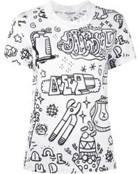 Junya Watanabe - Illustrated T-shirt - Lyst