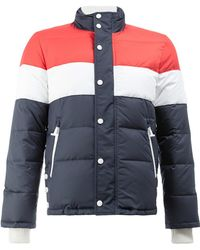 Thom Browne - Three Panel Downfilled Funnel Collar Ski Jacket In Mini Ripstop - Lyst