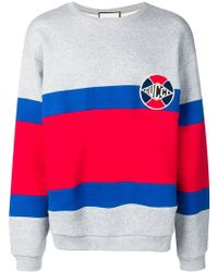 5522f405a58 Lyst - Gucci Kingsnake Print Sweatshirt in Red for Men