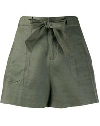 Equipment Wide Leg Shorts - Green