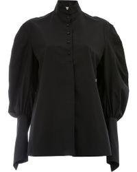 Aganovich - Puff Sleeve Shirt - Lyst