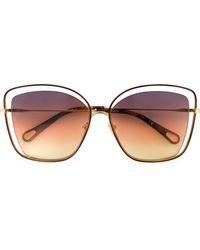 Chloé - Poppy Sunglasses - Lyst