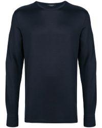 Ermenegildo Zegna - Longsleeved T-shirt - Lyst