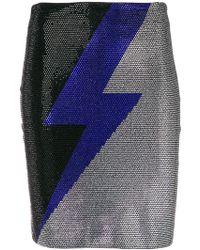 Balmain - Embellished Thunder Skirt - Lyst