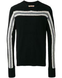 Ziggy Chen - Stripe Block Cashmere Sweater - Lyst