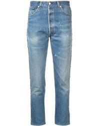 efd8a03ff2 Jeans RE/DONE femme à partir de 60 € - Lyst