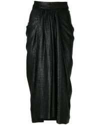 Rick Owens Lilies - Pleated Midi Skirt - Lyst