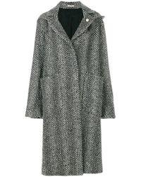 Lardini - Oversize Coat - Lyst