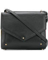 Sara Battaglia - Plisse Mini Crossbody Bag - Lyst