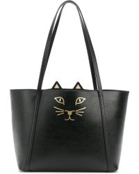 Charlotte Olympia Pre-owned - Leather handbag BUHxykwRO
