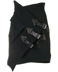 Redemption - Buckle-detail Fitted Skirt - Lyst