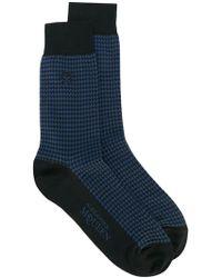 Alexander McQueen - Embroidered Socks - Lyst